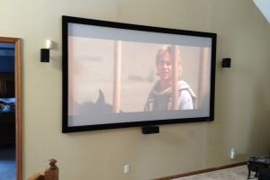 TV / Surround Sound Install